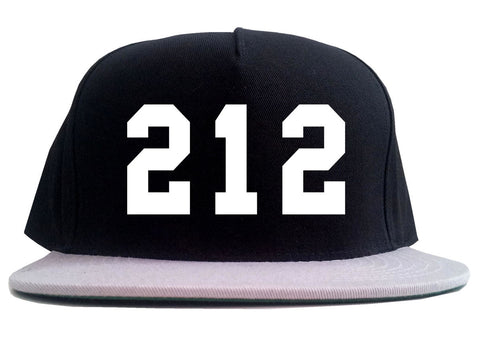 212 New York Area Code 2 Tone Snapback Hat By Kings Of NY