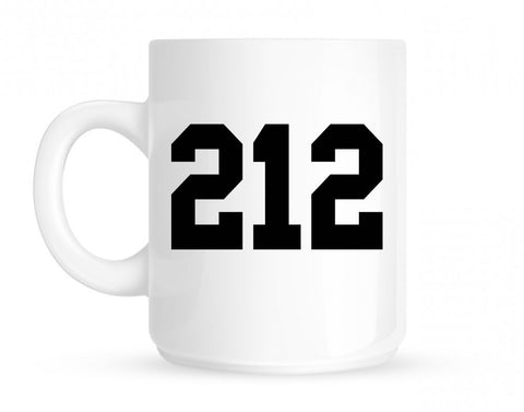 212 New York Area Code Mug By Kings Of NY