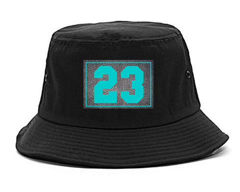 23 Cement Blue Jersey Bucket Hat By Kings Of NY