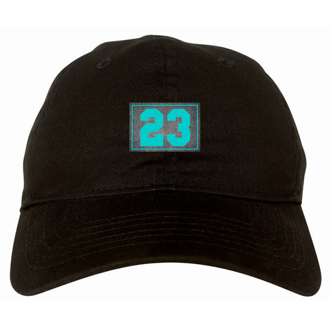 23 cement blue dad hat black