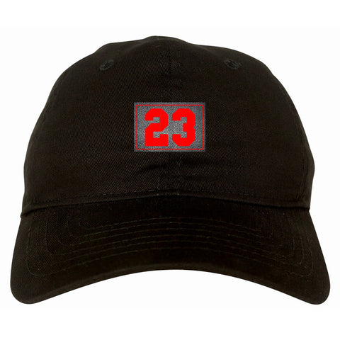 23 Cement Red Jersey Dad Hat By Kings Of NY