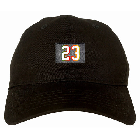 23 Cement Print Colorful Jersey Dad Hat By Kings Of NY