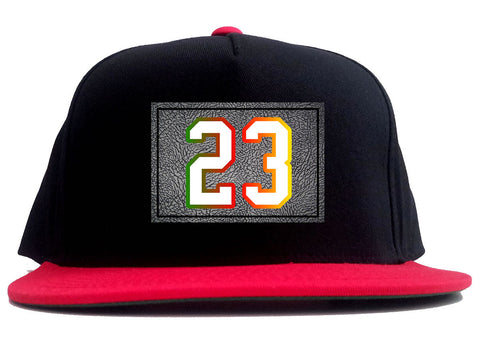 26 Cement Print Colorful Jersey 2 Tone Snapback Hat By Kings Of NY