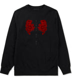 2 Chinese Dragon Crewneck Sweatshirt in Black