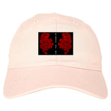 2_Chinese_Dragon Pink Dad Hat