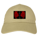 2_Chinese_Dragon Tan Dad Hat