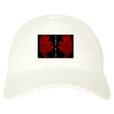 2_Chinese_Dragon White Dad Hat