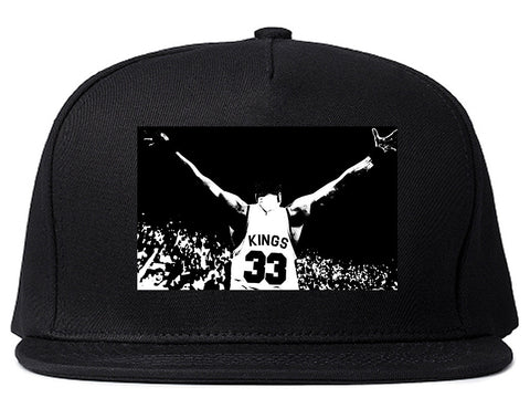 33 KINGS Snapback Hat Cap in Black