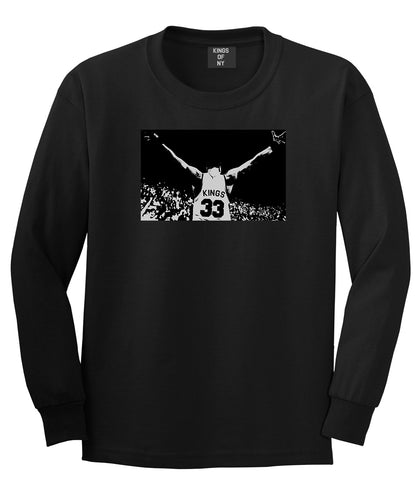 33 KINGS Long Sleeve T-Shirt in Black