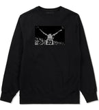 33 KINGS Crewneck Sweatshirt in Black