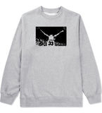 33 KINGS Crewneck Sweatshirt in Grey