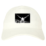 33 KINGS Dad Hat in White