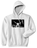 33 KINGS Pullover Hoodie in White