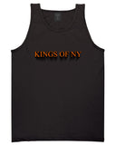 3D Text Tank Top in Black