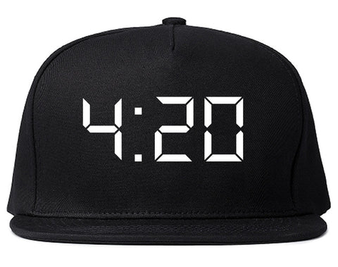 420 Time Weed Somker Snapback Hat By Kings Of NY