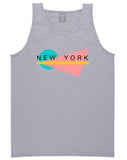 70s New York Spring Tank Top in Grey