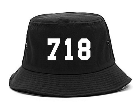 718 New York Area Code Bucket Hat By Kings Of NY