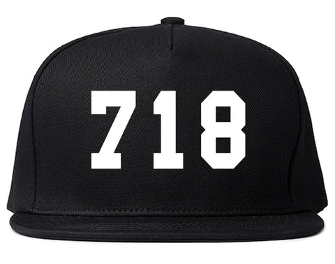 718 New York Area Code Snapback Hat By Kings Of NY