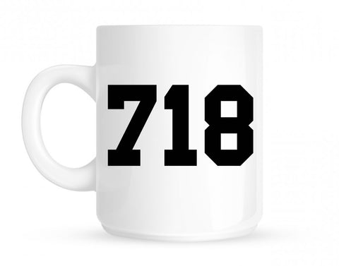 718 New York Area Code Mug By Kings Of NY