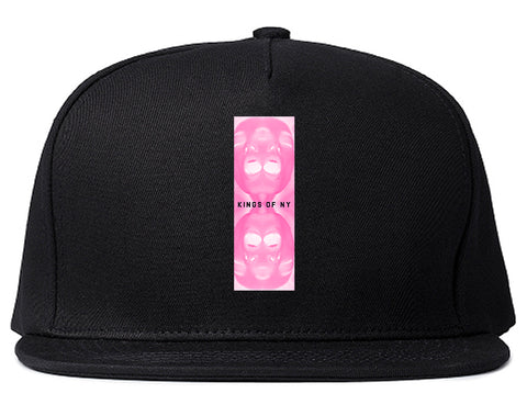 After Dark Mens Snapback Hat Black