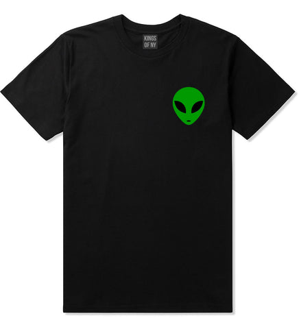 Alien Head Green T-Shirt