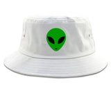 Alien Head Green Bucket Hat