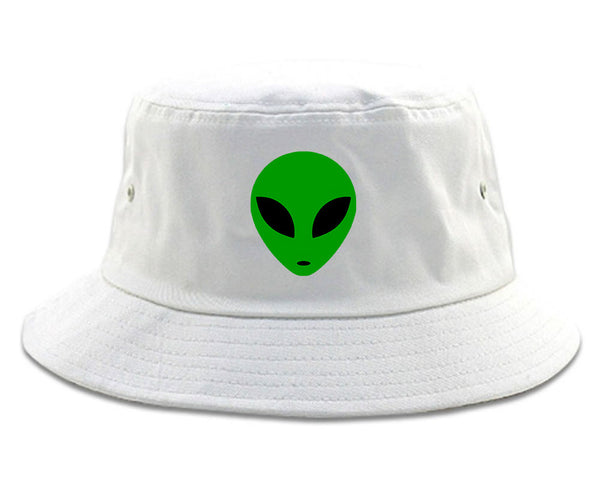 df4aa58d84e Kings Of NY Alien Head Green Bucket Hat – KINGS OF NY