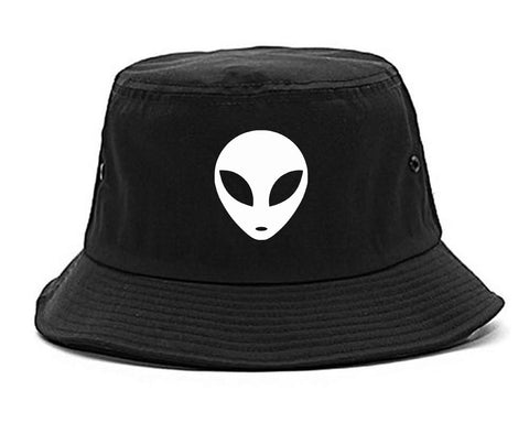 Alien Head Bucket Hat