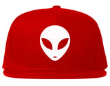 Alien Head Snapback Hat