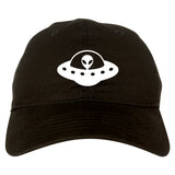 Alien_Spaceship_Chest Mens Black Snapback Hat by Kings Of NY