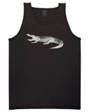Alligator Black Tank Top Shirt by Kings Of NY