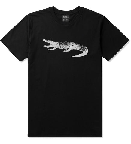 Alligator Black T-Shirt by Kings Of NY