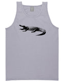 Alligator Grey Tank Top Shirt by Kings Of NY
