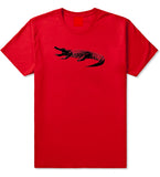 Alligator Red T-Shirt by Kings Of NY