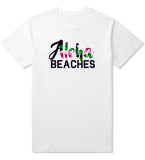 Aloha Beaches White T-Shirt by Kings Of NY