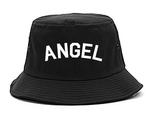 Angel Arch Good Black Bucket Hat