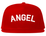 Angel Arch Good Red Snapback Hat