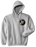 Angry Cougar Chest Grey Pullover Hoodie by Kings Of NY