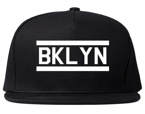 BKLYN Brooklyn Mens Snapback Hat Black
