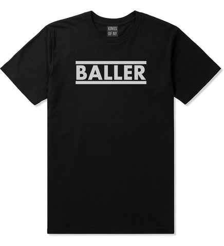 Baller Black T-Shirt by Kings Of NY