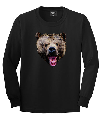 Bear Artwork Long Sleeve T-Shirt
