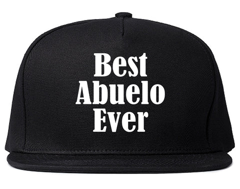 check out eec30 d0943 Best Abuelo Ever Grandpa Spanish Fathers Day Mens Snapback Hat Black