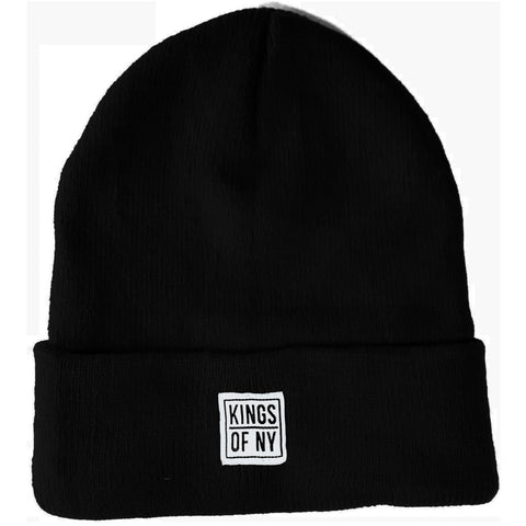 Black Beanie Hat by Kings Of NY