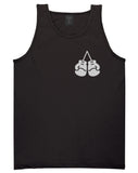 Boxing Gloves Chest Black Tank Top Shirt by Kings Of NY