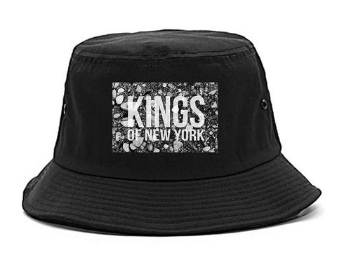 Came From The Dirt KONY Mens Snapback Hat Black