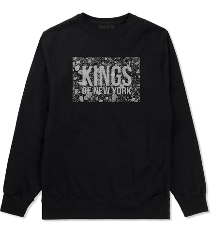 Came From The Dirt KONY Mens Crewneck Sweatshirt Black
