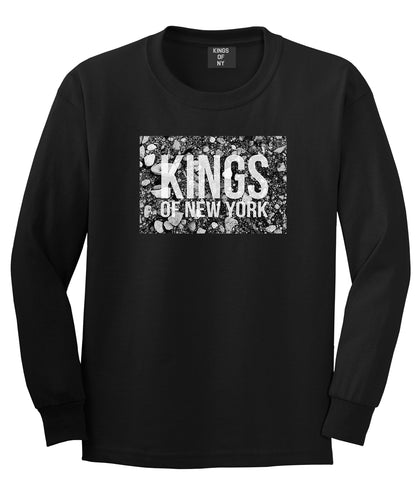 Came From The Dirt KONY Mens Long Sleeve T-Shirt Black