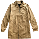 Manhattan Camel Men's Long Twill Jacket