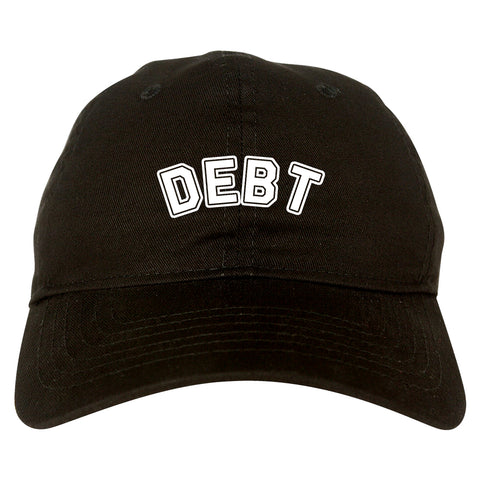 Debt_Life Black Dad Hat