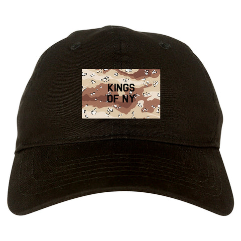Desert_Camo_Army Black Dad Hat